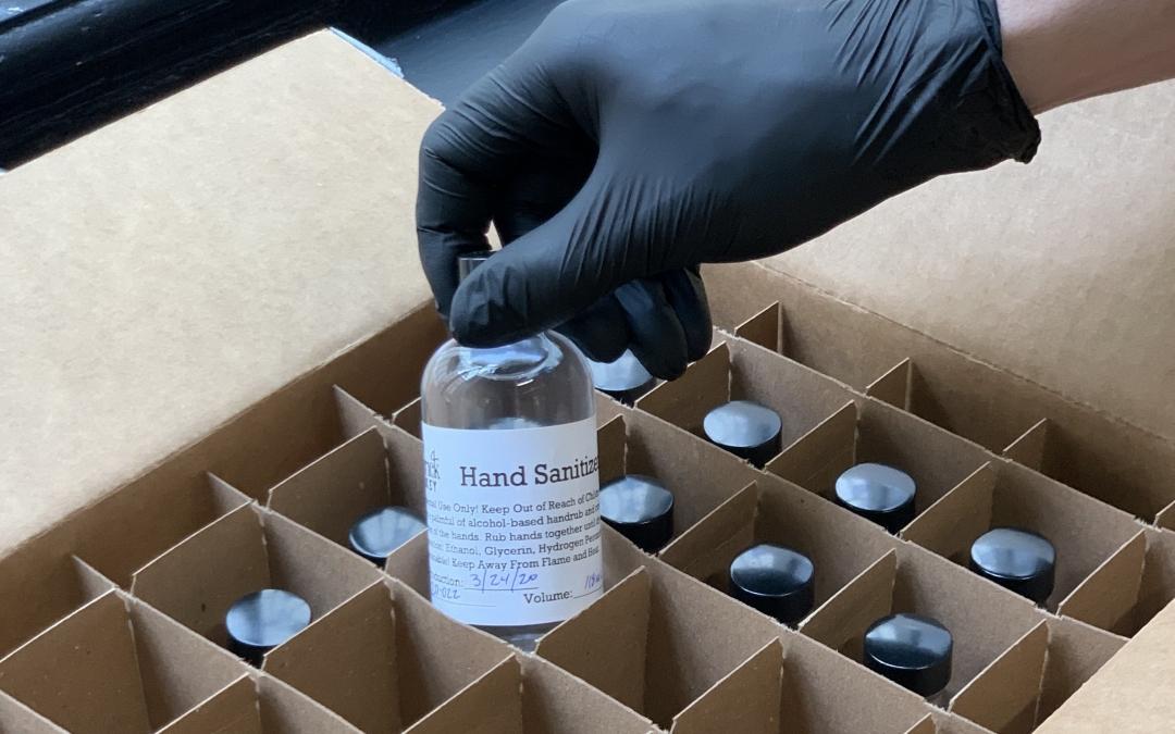 Maverick Whiskey Hand Sanitizer